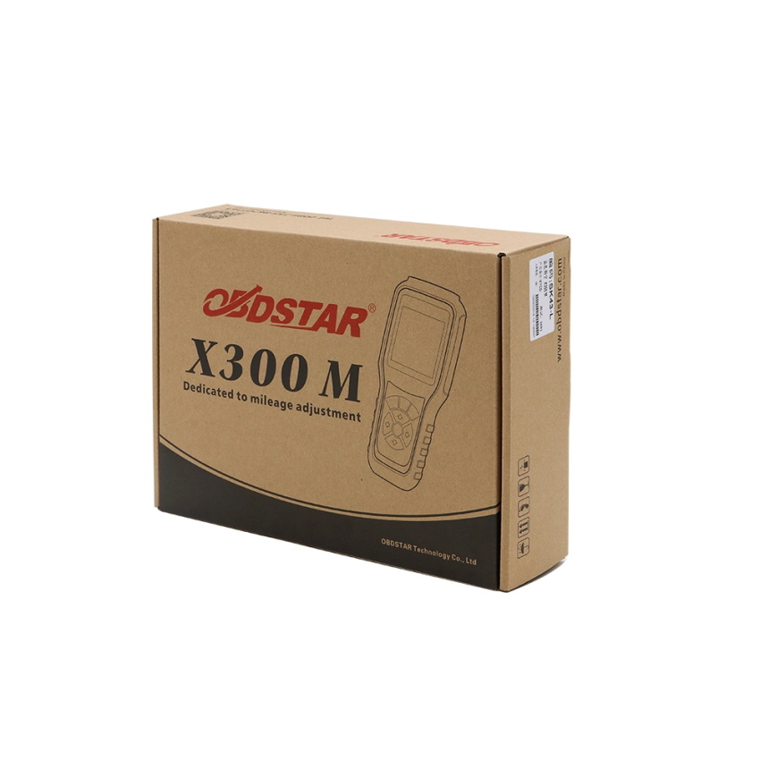OBDSTAR X300 M odometer adjustment